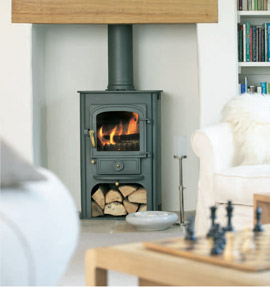Clearview Solution 400 in fireplace