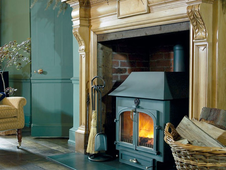 Clearview 750 multi fuel / wood burning stove