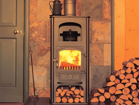 Clearview Stoves - Clearview Pioneer Oven Stove