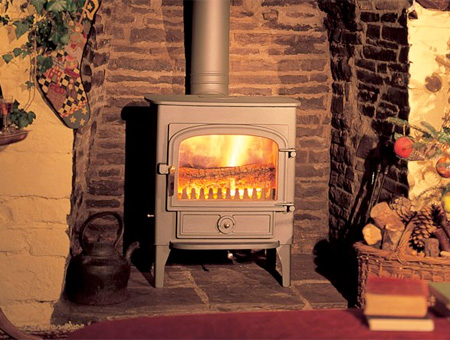 Clearview Vision 500 multi fuel / wood burning stove